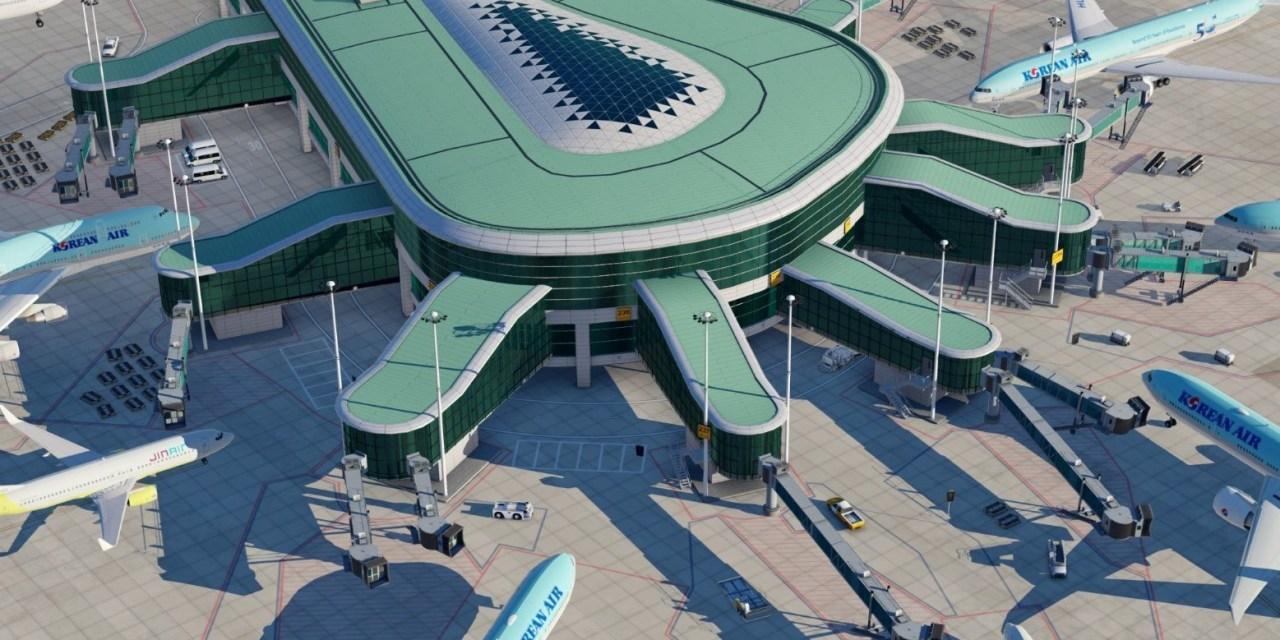 ZeroDollarPayware vydávají Seoul Incheon pro X-Plane
