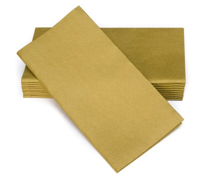 SimuLinen Signature Colored Gold Dinner Napkins