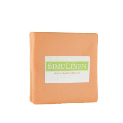SimuLinen Apricot / Peace / Coral Cocktail Beverage Napkins