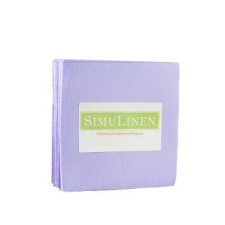 SimuLinen LAVENDER Cocktail Beverage Napkins