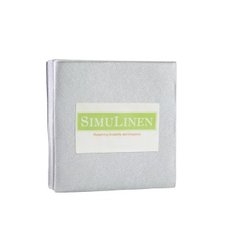 SimuLinen SILVER Cocktail Beverage Napkins