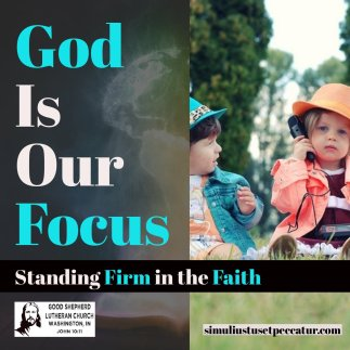 God is our Focus