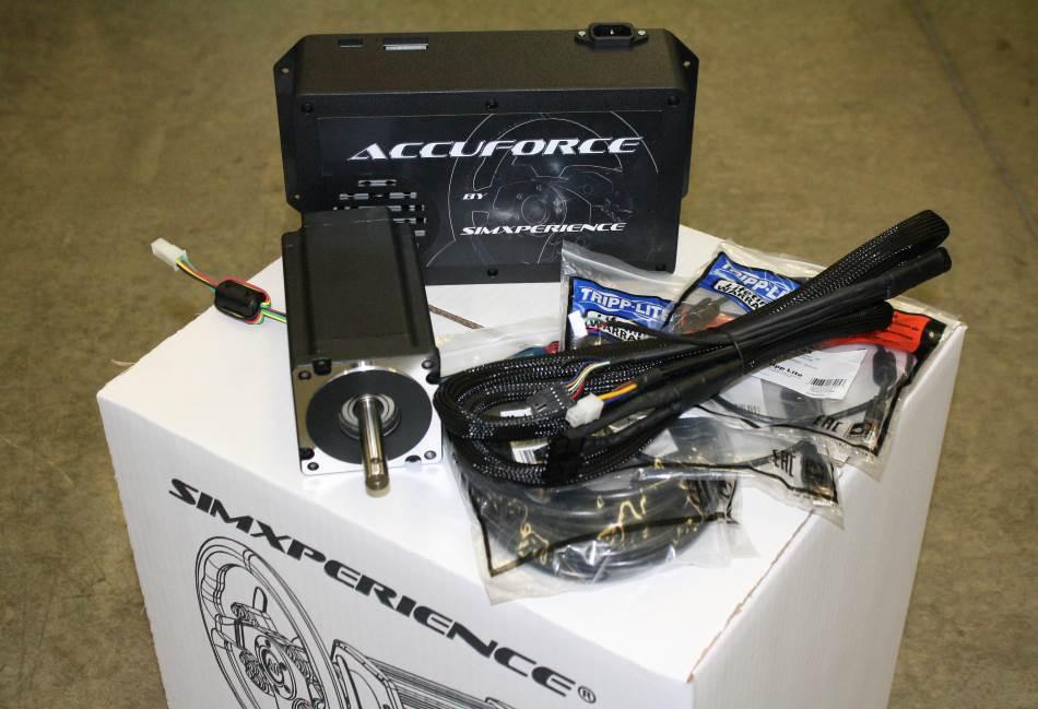 AccuForce DIY Sim Steering Kit AccuForce DIY Direct Drive Force Feedback Steering System Kit