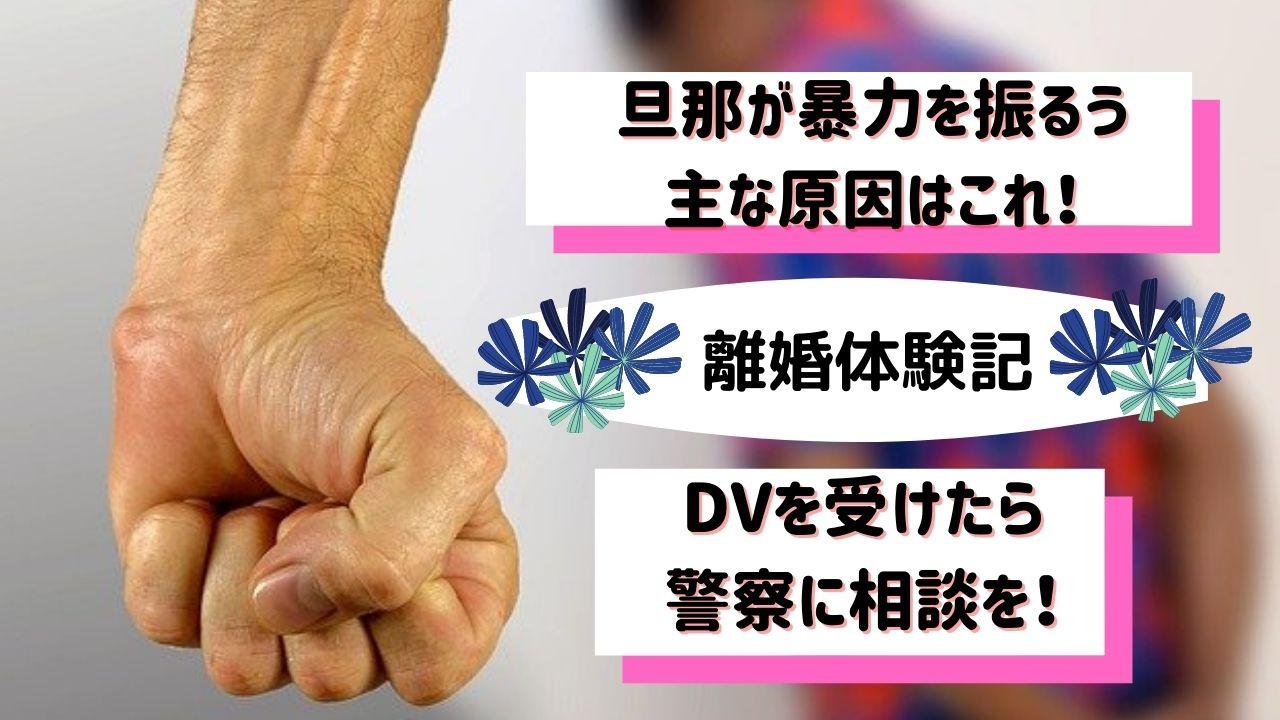 旦那が暴力を振るう DV 警察 相談 離婚体験記