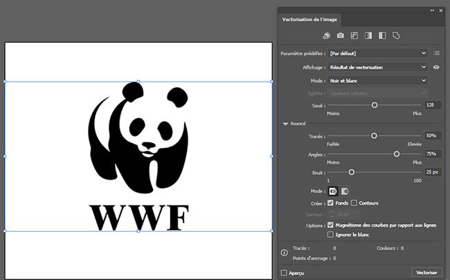 vectoriser un logo