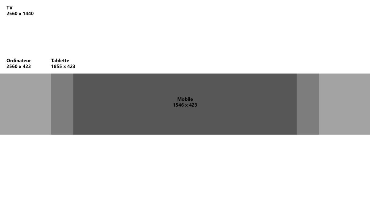 dimensions bannière youtube photoshop