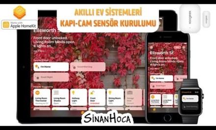 Akıllı Ev Sistemleri (Smart Home) Kapı Sensörü 2/3