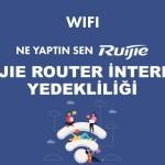 05 Ne yaptın sen Ruijie ? Ruijie Router İnternet (yedekliliği) Load Balance