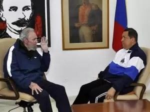 Fidel Castro presagia un río de sangre en Venezuela