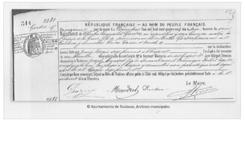 La nacionalidad de Carlos Gardel - Su Partida de Nacimiento