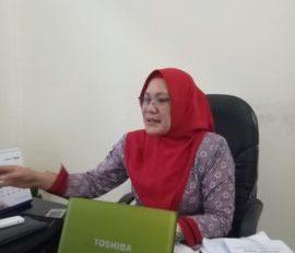 Kabid Kesmas Dinas Kesehatan Kabupaten Simalungun Sundari Harahap. (Foto: Sinar Keadilan/Agus S)
