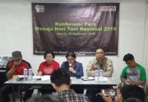 Di Tangan Jokowi, 59 Tahun Perjuangan Reforma Agraria Gagal, Peringati Hari Tani Nasional, Ribuan Petani Akan Turun Ke Jalan; Hentikan Kekerasan Kepada Petani, Lakukan Reformasi Agraria Total.