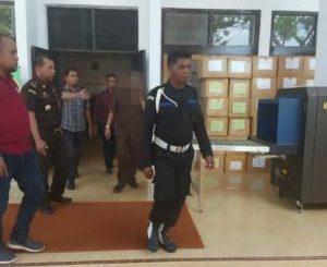 Dugaan Korupsi di Dinas Perhubungan Kota Ambon, Direktur PT Reminal Utama Sakti Bersama Dua Tersangka Lainnya Ditahan Jaksa.