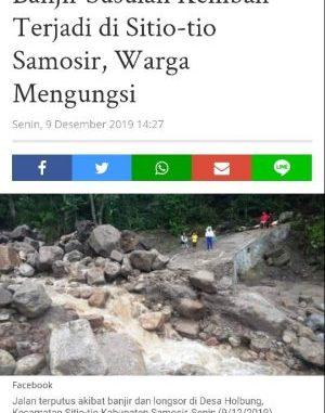 Bakal Calon Bupati Samosir, Swangro Marbun Lumbanbatu: Pembuangan Sampah di Hutan Lindung Harus Ditindaktegas.