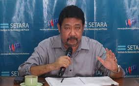 Ketua Setara Institute, Hendardi: Rancangan Perpres Tugas TNI dalam Mengatasi Aksi Terorisme Adalah Kemunduran Reformasi Sektor Keamanan, Pintu Supremasi Militer Kembali Terbuka. (Net)