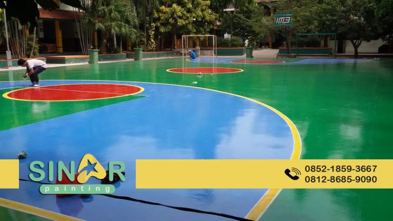 jasa pengecatan lapangan olahraga