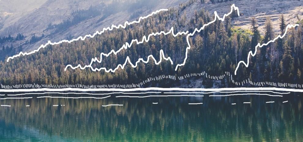 Der einfache Weg Landkarten zu zeichnen – Flüsse, Seen und Wälder