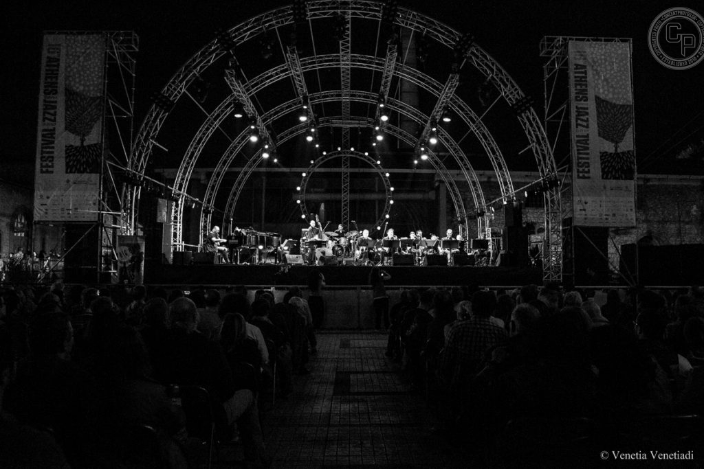 Athens Technopolis Jazz Festival 2016 | May 25 | Athens Big Band | photo by Venetia Venetiadi