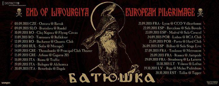Batushka [PL] live in Athens