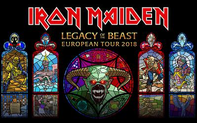 Iron Maiden - Legacy Of the Beast tour Rockwave Festival 20/7