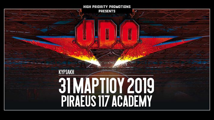 UDO - Athens - 31 March 2019