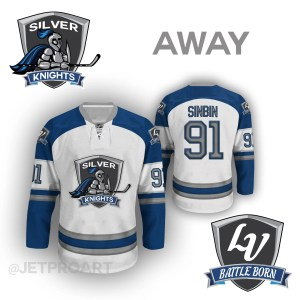 Las Vegas Silver Knights Away