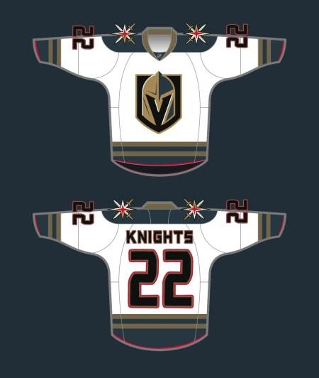 golden knight jersey