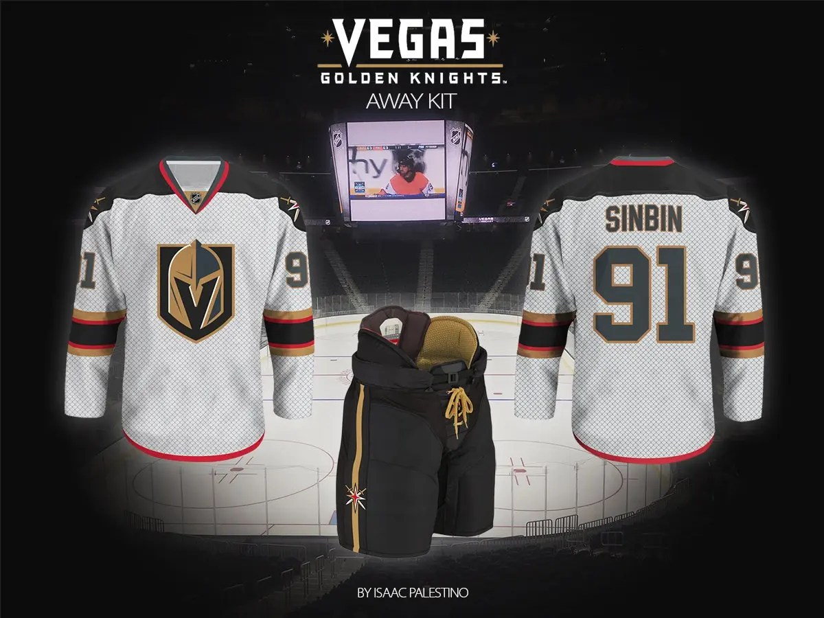 Vegas Golden Knights Jersey Concepts: Second Edition ...