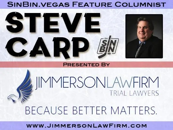 Steve Carp s twice-weekly column publishes every Wednesday and Sunday  during the Golden Knights season.   0bb22c6f1