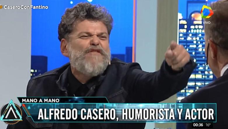 [VIDEO] ALFREDO CASERO Y SU RIDÍCULO ACTING RIDICULIZANDO A LOS QUE RECLAMAN