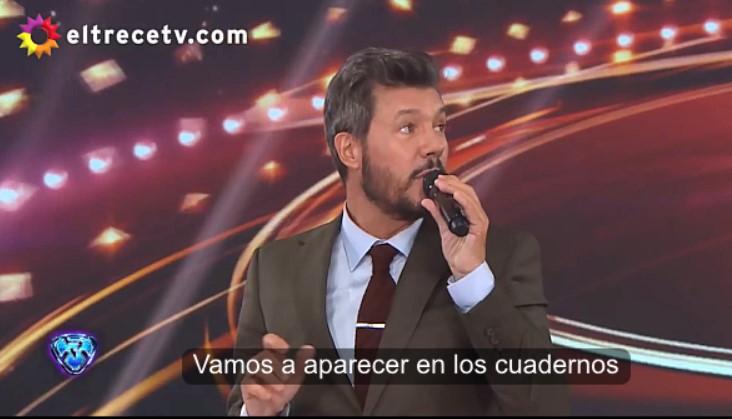 """[VIDEO] UNO DE LOS HIMNOS DEL KIRCHNERISMO SE """"COLÓ"""" EN EL PROGRAMA DE @cuervotinelli"""