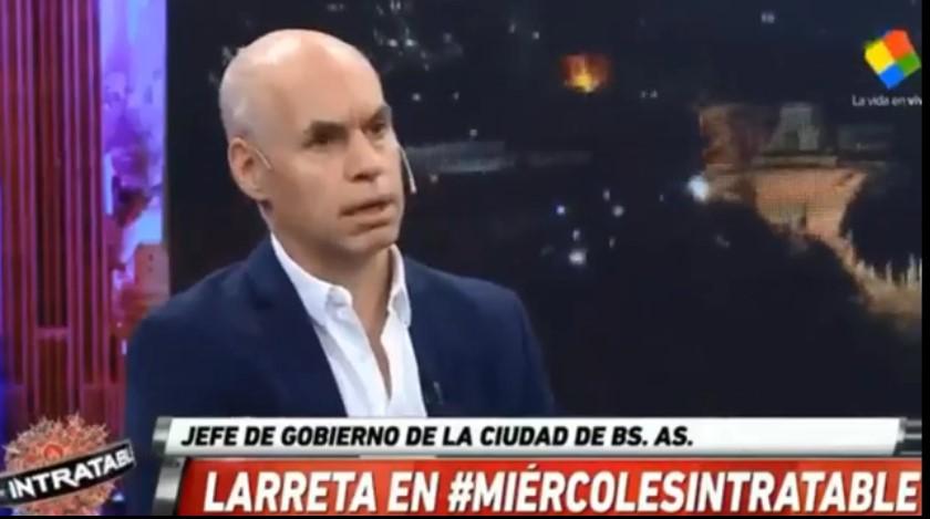 [VIDEO] LARRETA PERDIÓ LA MEMORIA PARA PROTEGER AL LÍDER