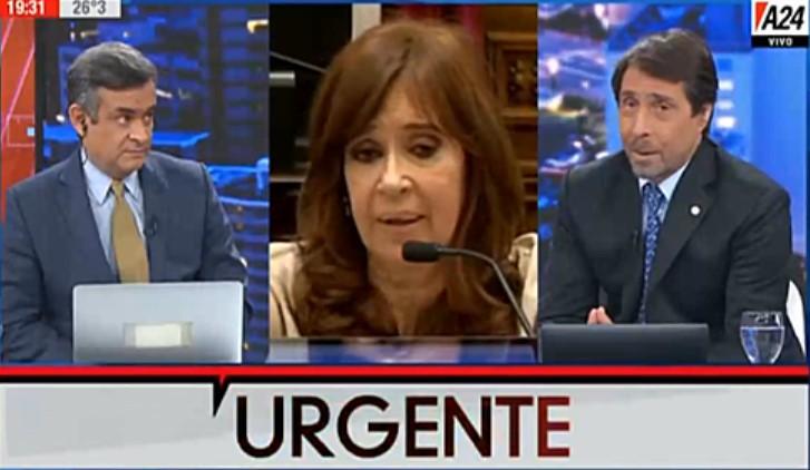 [VIDEO] EL DESPRECIABLE ANÁLISIS DE EDU FEINMANN SOBRE EL FALLECIMIENTO DE LA MADRE DE CFK