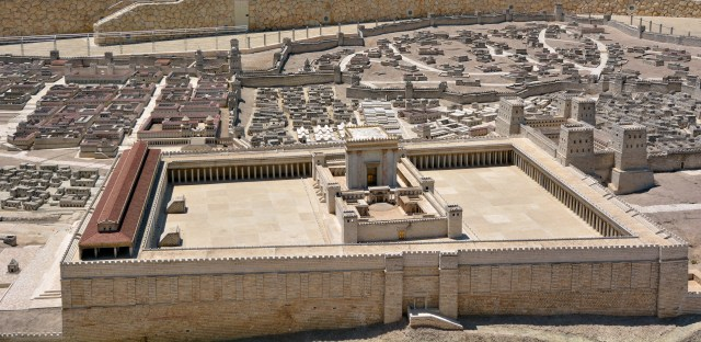 The Second Temple Model of the ancient in Jerusalem