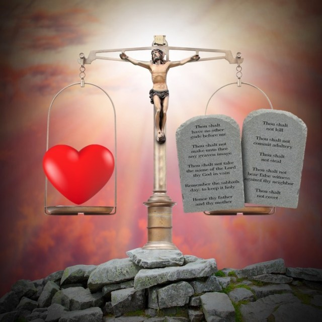 God and Man are Balancing Love and Justice