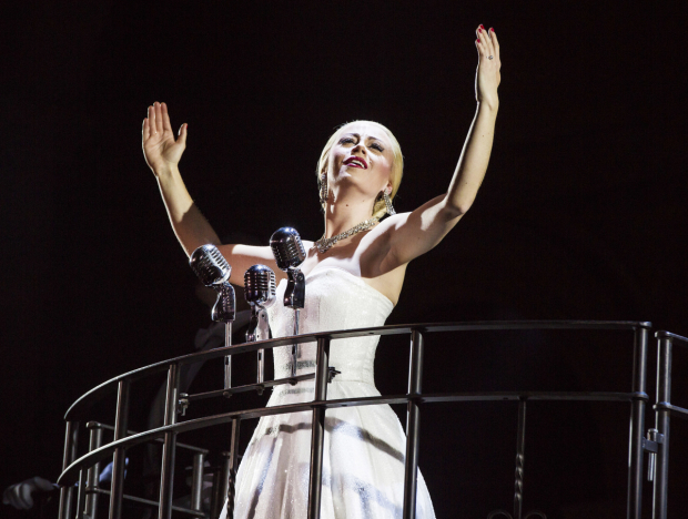 Emma Hatton in Evita UK Tour