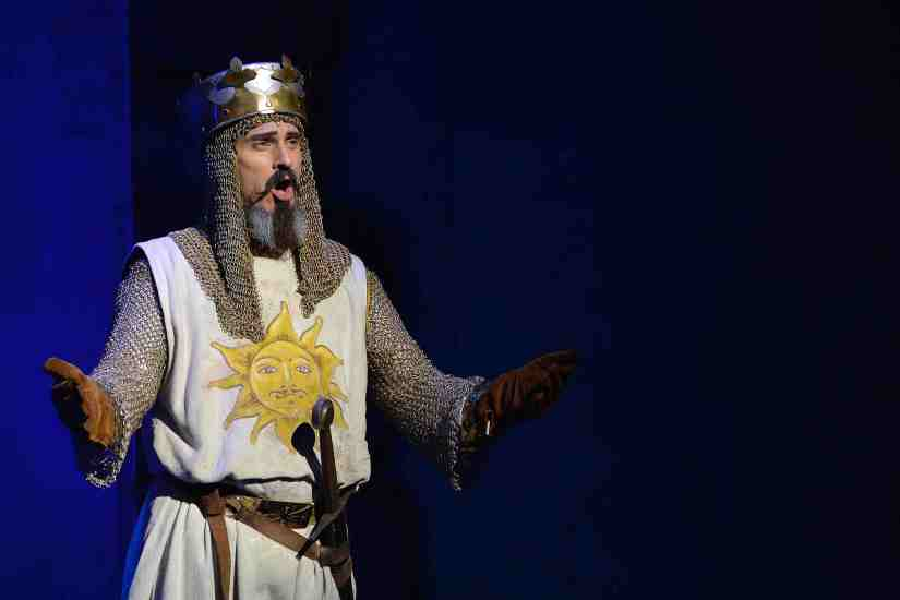 King Arthur Spamalot UK Tour