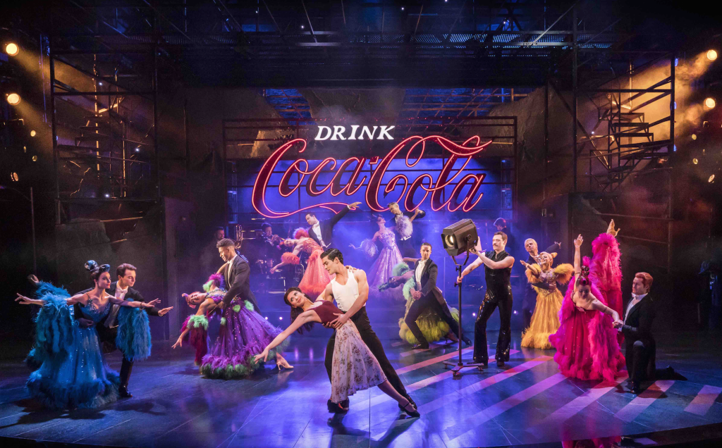 The cast of Strictly Ballroom The Musical. Photo by Johan Persson