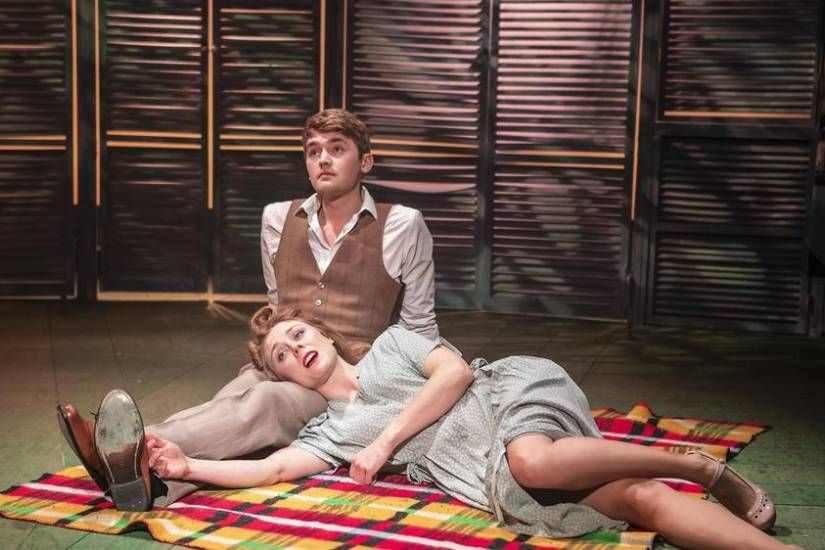 Aspects of Love at the Southwark Playhouse. Photo by Pamela Raith