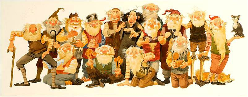 Image result for Iceland's Gryla and the 13 Yule Lads
