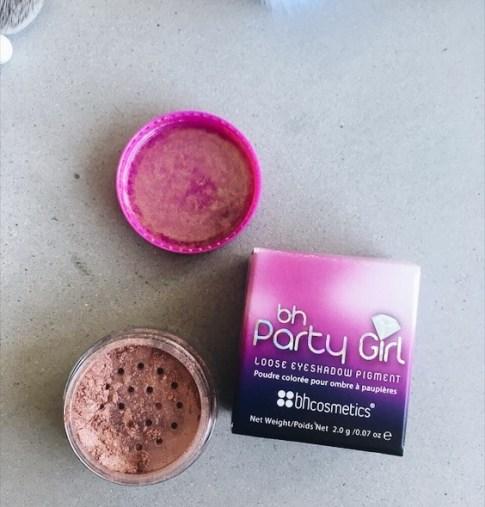 bh cosmetics loose eyeshadow pigments