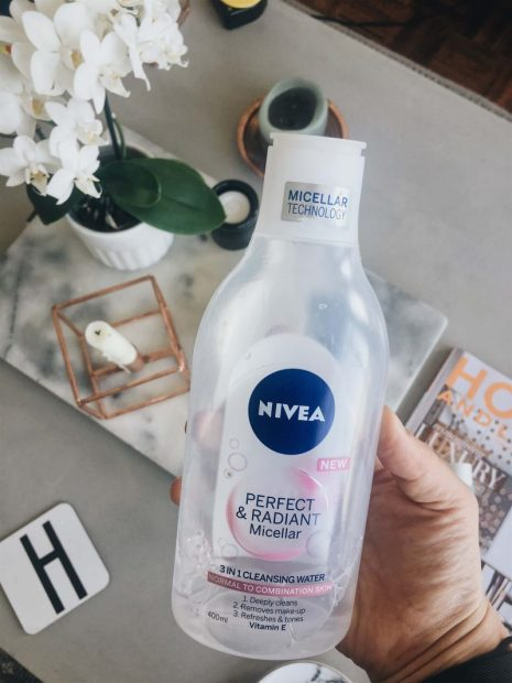 which makeup remover is best nivea perfect and radiant micellar water