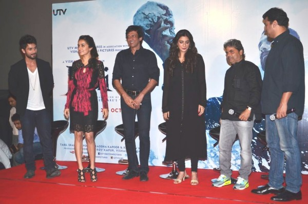haider first look launch