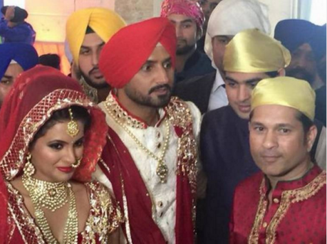 harbhajan marriage 1