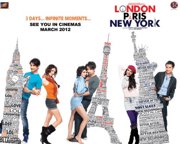 london paris new york 1