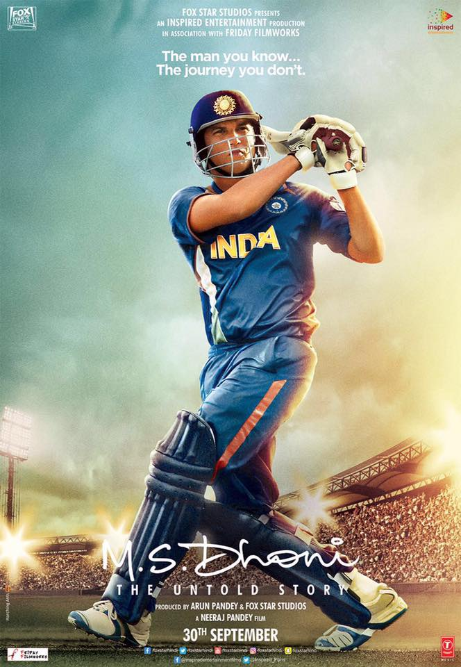 MS Dhoni Poster