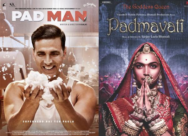25 जनवरी को रिलीज़ होगी 'पद्मावत', 'पैड मैन' से सीधी टक्कर