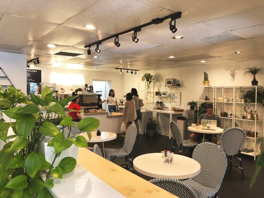 Paloma Coffee Interior