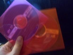 The Buffy CDs Nicole sent me