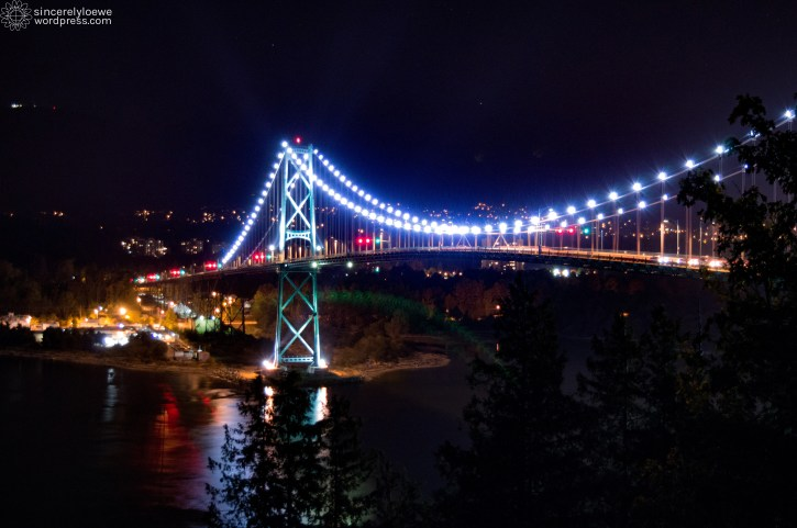 08.23.15. // Lions Gate Bridge